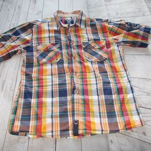 Triple Fat Goose Men's Shirt Button Front multi co